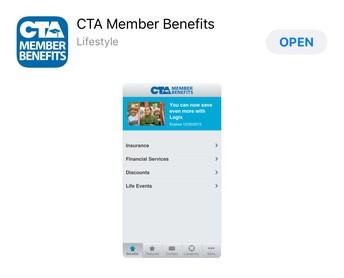 CTA Membership Benefits App