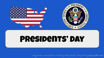 President's Day Hyperdoc