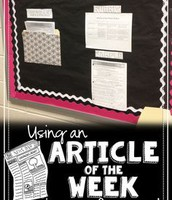 Using an Article of the Week