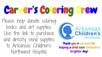 Carver's Coloring Crew