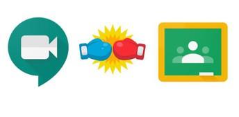 Google Meet vs. Google Classroom