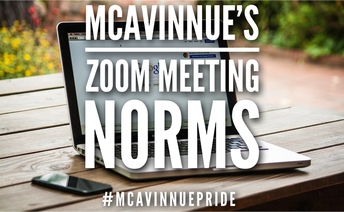 McAvinnue's Zoom Meeting Norms & Expectations