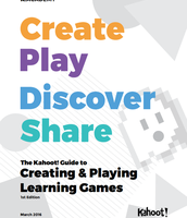 KAHOOT! Guide to Creating and Playing Learning Games