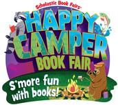 Scholastic Book Fair-Happy Camper: S'more fun with books!