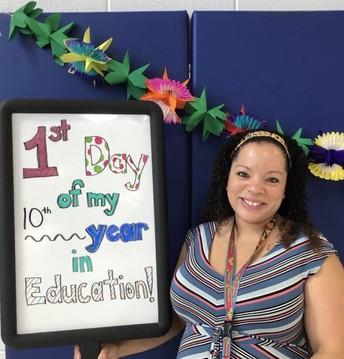 Our Assistant Principal, Mrs. McFadden!