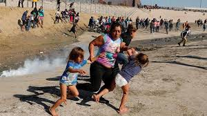 Tear Gas Used at the U.S Border Causes Divisions