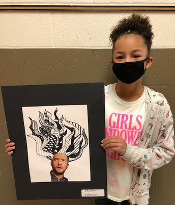 Student's Artwork to be Displayed at local Salon
