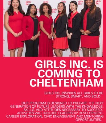 Girls Inc. Coming to Cheltenham