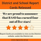 District and School Report Cards