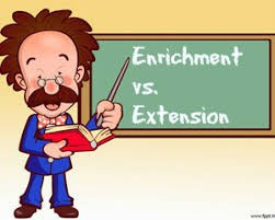 Extension and Enrichment