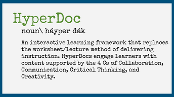 Hyperdocs for Remote Learning