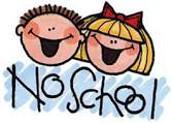 No School 4/14 and 4/17