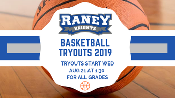 Basketball Tryouts - August 21