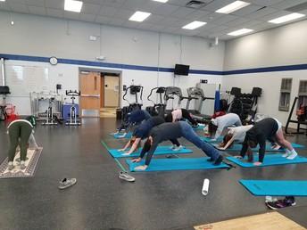 PLTW BioMedical Yoga Class