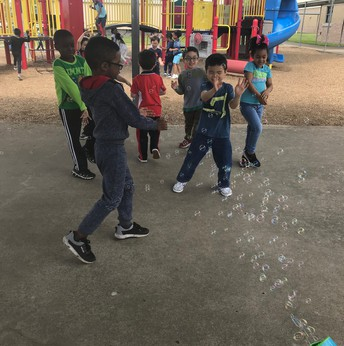 Kindergarten Zero Tardies Bubble Party