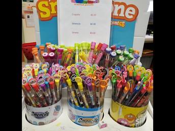 Smencils, Smens, crayons