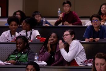 TCS students at MathCounts
