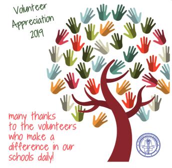 National Volunteer Appreciation Week April 8 - 12