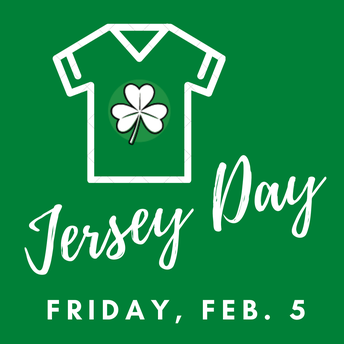 Jersey Day - Friday, February 5