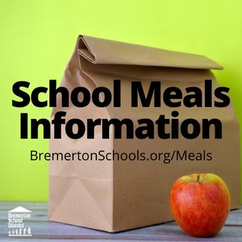 Meal Program Updates