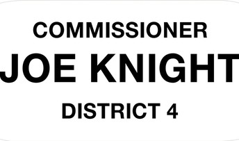 Commissioner Joe Knight, District 4, logo