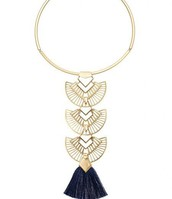 Aida Tassel Necklace
