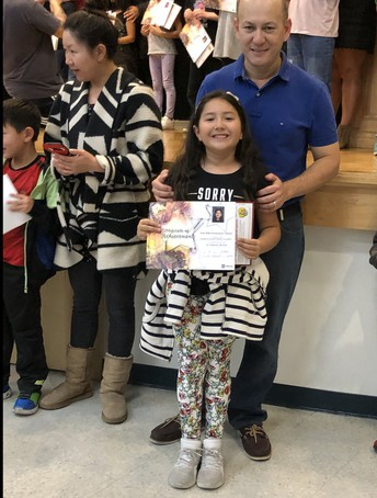 AR Award Ceremony by Harlow Mackenzie-James and Hayley Julian in Mrs. Salazar's Class