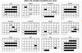 21-22 VBL Calendar