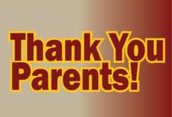 THANK YOU PARENTS and GRANDPARENTS!