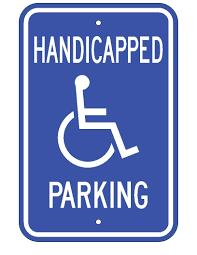 Estacionamiento para inválidos