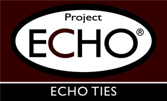 This image is the University of Wyoming Project ECHO logo. ECHO TIES is the RSOI network.