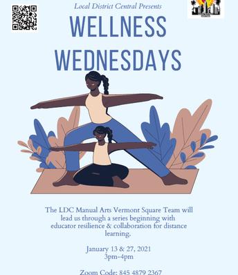 Wellness Wednesdays 1/27