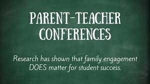 Parent-Teacher Conferences - November 7 & November 14