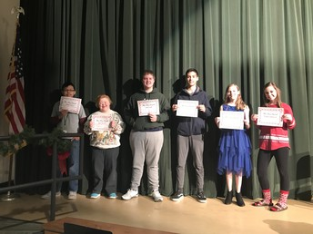 2017 Mr. and Ms. Clause Recipients
