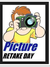 Wednesday, 11/14    Picture Retake Day!