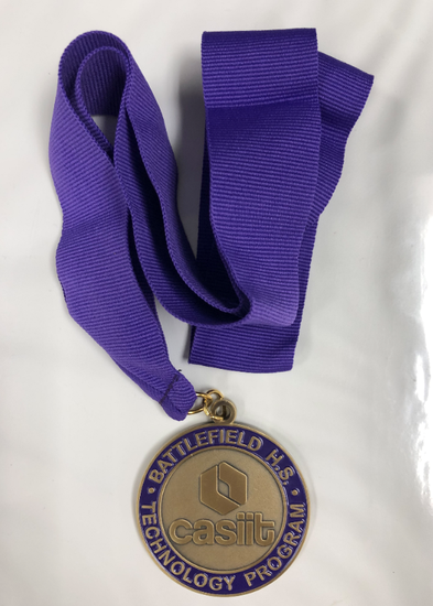 Image of BHS CASIIT medal