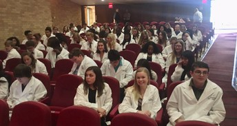 Silver Cord Ceremony for our TBI Students