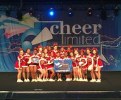Cheerleaders Nab First Place