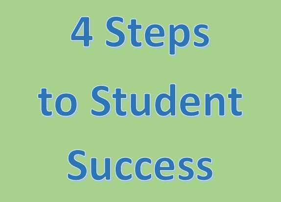4 steps to student success