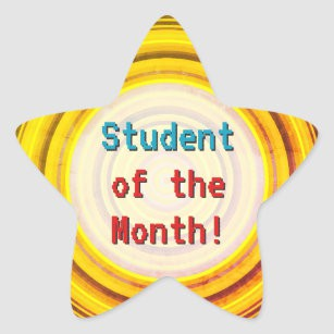 """April """"Student of the Month"""""""
