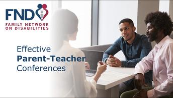 Effective Parent Teacher Conferences