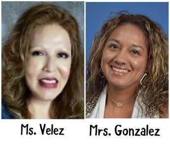 Ms. Velez - Mrs. Gonzalez