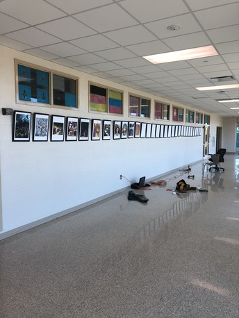 Gators of the Week:  Art on Display in World Languages Department