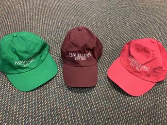 Baseball hats, $15