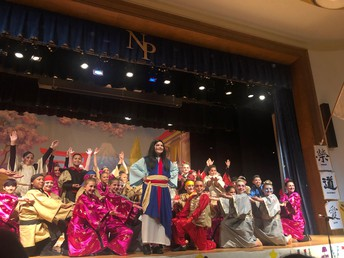 """Mulan Jr."" Performance at NPHS from Greystone Elementary Students"