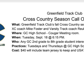 GC Cross Country Call Out