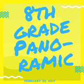8th Grade Panoramic Picture - February 23 - 8:30 a.m.