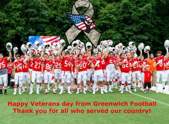 GHS football says thanks.