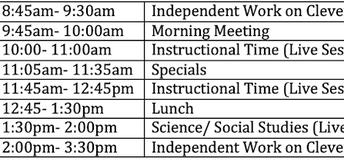 Upper Elementary 3rd- 5th