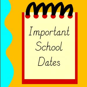 Please mark your calendar!